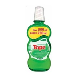 Solucao Bucal Topz 500ml Ex Forte