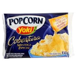 Pipoca Micro Yoki 130g Cob Manteiga
