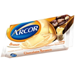 Cobertura Chocolate Arcor 1,050kg Branco
