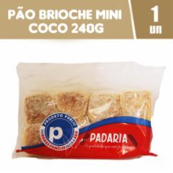 Pão Brioche Public 240g Mini Coco