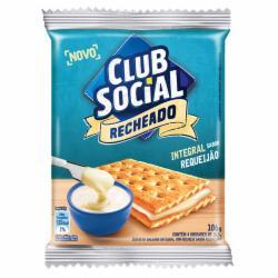 Biscoito Club Social Recheado 106g Requeijão