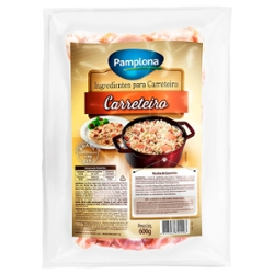 Ingredientes P/Carreteiro Pamplona 600g