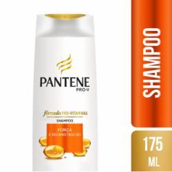Shampoo Pantene 175ml Força e Reconstrução