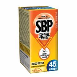 Inseticida Elétrico Líquido SBP 35ml 45 Noites Refil Citronela