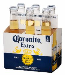 Cerveja Coronita 207ml Long Neck - Pack com 6 unidades