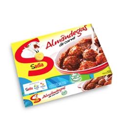 Almondegas Sadia 500g Bovina