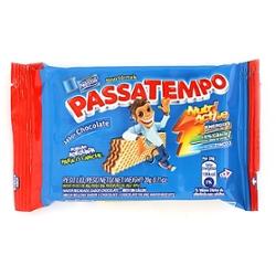 Bisc Passatempo Mini Wafer 20g Chocolate