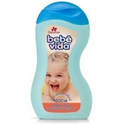 Shampoo Bebe Vida 200ml Extrat Aveia