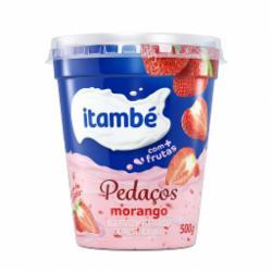Iogurte Itambe Pedacos 500g Morango