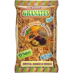 Granatus Cereais Mamao E Linhaca 1k