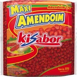 Amendoim Cru Ki Sabor 500g