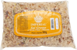 Sal Grosso Imperial 500g Pimenta