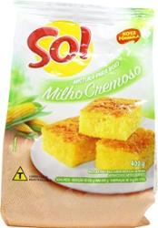 Mist Bolo Sol 400g Milho Cremoso