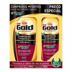 KIT NIELY GOLD SH 300ML COND 200ML COMP+FORT