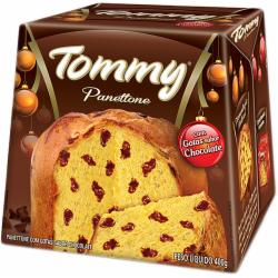 Panettone Tommy 400g Gotas Chocolate