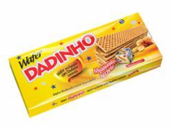 Biscoito Wafer Dadinho 130g Cremoso