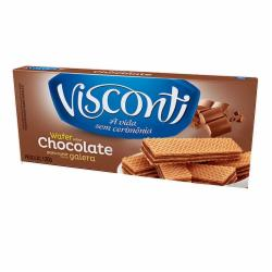 Biscoito Wafer Visconti 120g Chocolate