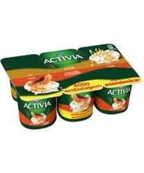 Leite Fermentado Activia 600g Cereais e Aveia