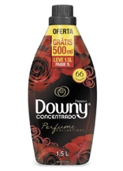 Amaciante Concentrado Downy Passion Leve 1,5L Pague 1L