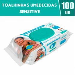 Toalhinhas Umedecidas Public Baby Sensitive com 100