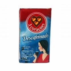 Cafe 3 Cor  250g Descafeinado Vacuo
