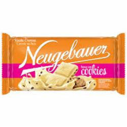 Chocolate Neugebauer 95g Branco com Cookies