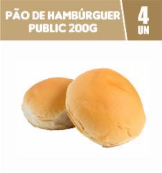 PAO HAMBURGUER TRAD. 200G PUBLIC