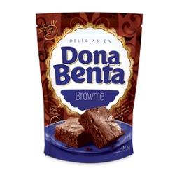 Mist Bolo Dona Benta 450g Choco Brownie