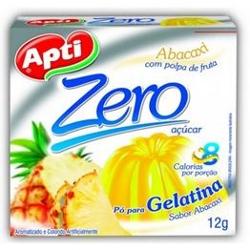 Gelatina Apti Zero 12g Abacaxi