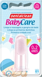 Escova Dental Massageadora Dentalclean Baby Care