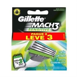 Carga Gillette Mach3 Lv3 Pg2 Sensitive