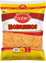 Empanados Nobre 1kg Nobrinhos