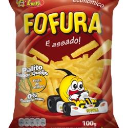 Salg Lucky Fofura 100g Queijo