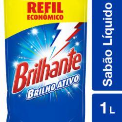Lava Roupas Líquido Brilhante 1L Sachet