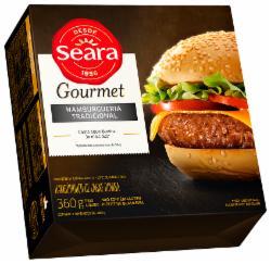 Hambúrguer Gourmet Seara 360g Tradicional