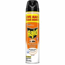 Inseticida Aerosol Raid 420ml Multi Base Água