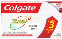Kit Creme Dental Colgate Total 12 70g Clean Mint Leve 3 Pague 2