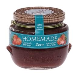 Geleia Homemade 250g Zero Morango