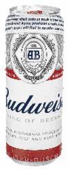 Cerveja Budweiser 410ml Lata