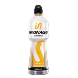 Isotonico Ironage 500ml Laranja