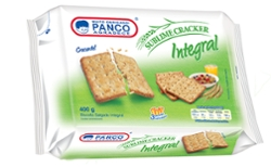 Biscoito Panco 400g Cream Cracker Integral
