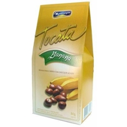 Chocolate Montevergine 80g Banana Tropical