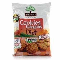 Cookies Mae Terra 120g Org Diet Damasco/Cast