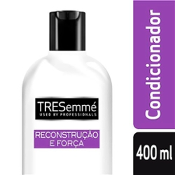 COND TRESEMME 400ML RECONST E FORCA