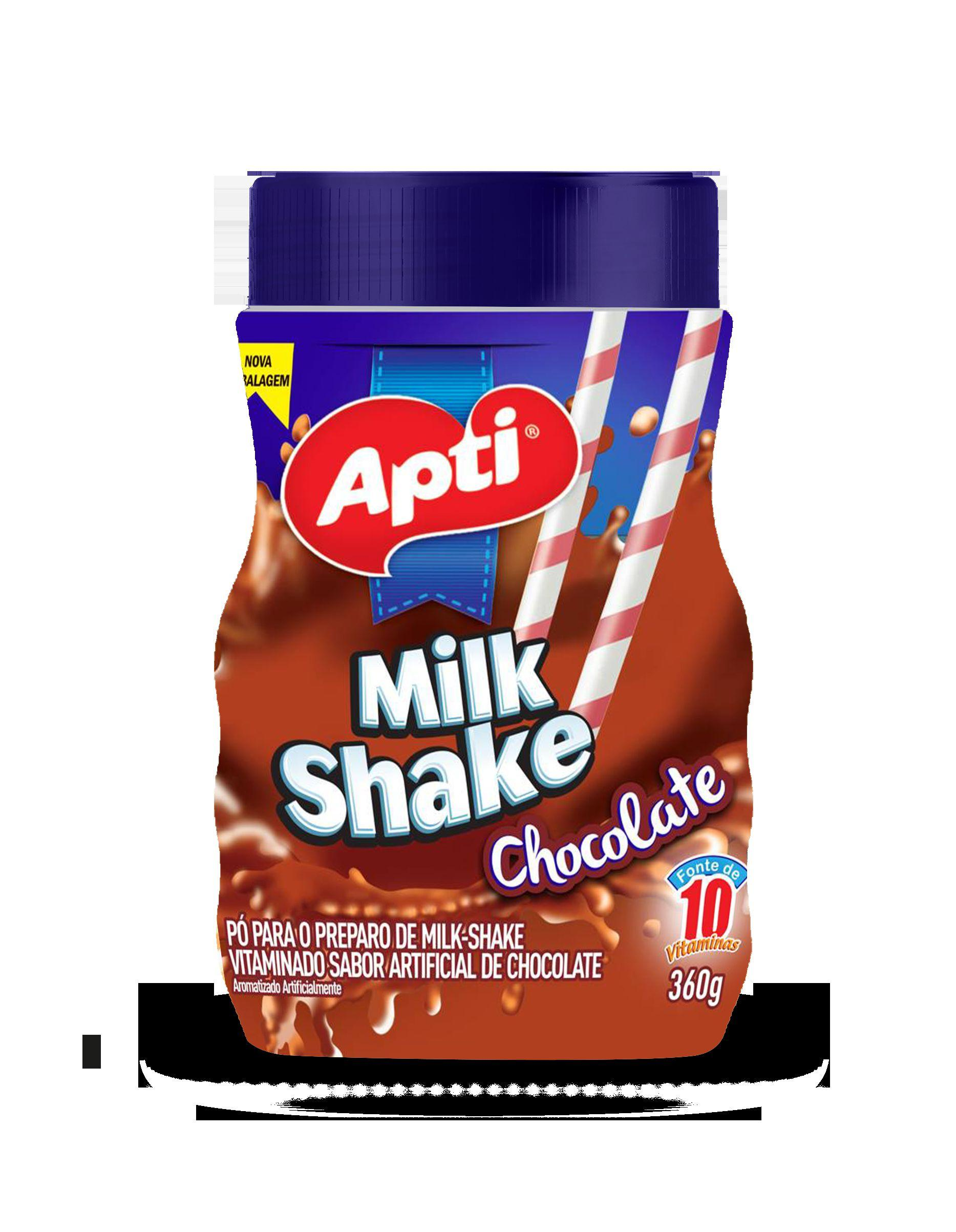 Milk Shake Apti 360g Chocolate