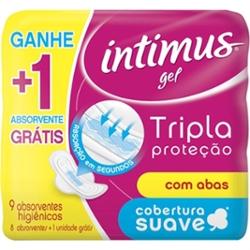 Absorvente Intimus Gel Tr Prot Lv9 Pg8 com Ab Suave