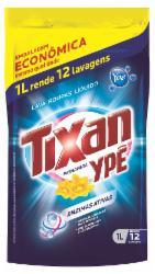 Lava Roupas Líquido Tixan 1L Primavera Sachet