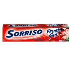Creme Dental Sorriso 90g Fresh Mentol Gel