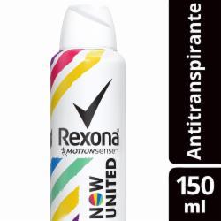 Desodorante Aerosol Rexona 150ml Now United