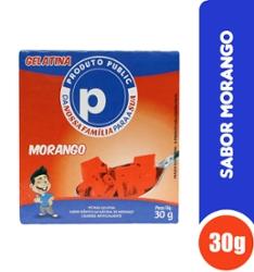 Gelatina Public 30g Morango